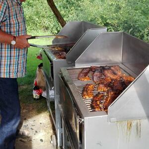Angebote mit Barbecue im Schwedenzelt