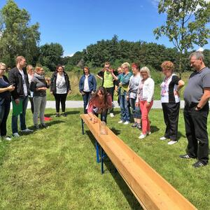 """Teamplayer spezial"" – Event mit Teamspielen & Barbecue"