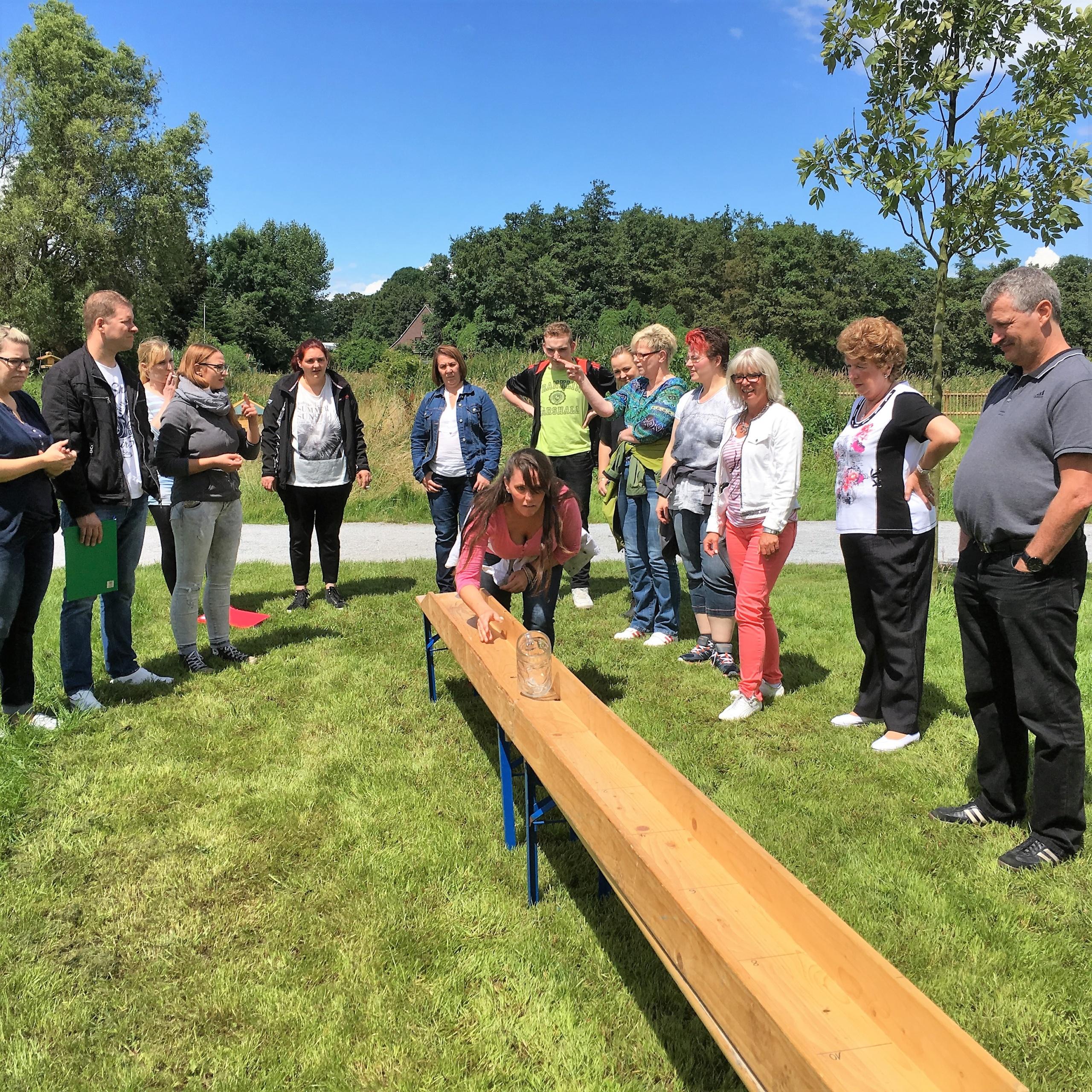 Teamspiele auf Eventwiese – interessante Wettkämpfe