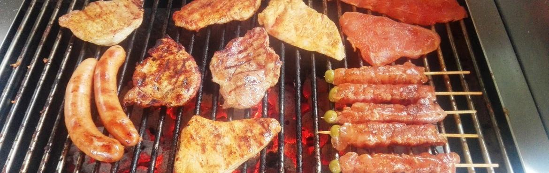 Barbecue auf Grill
