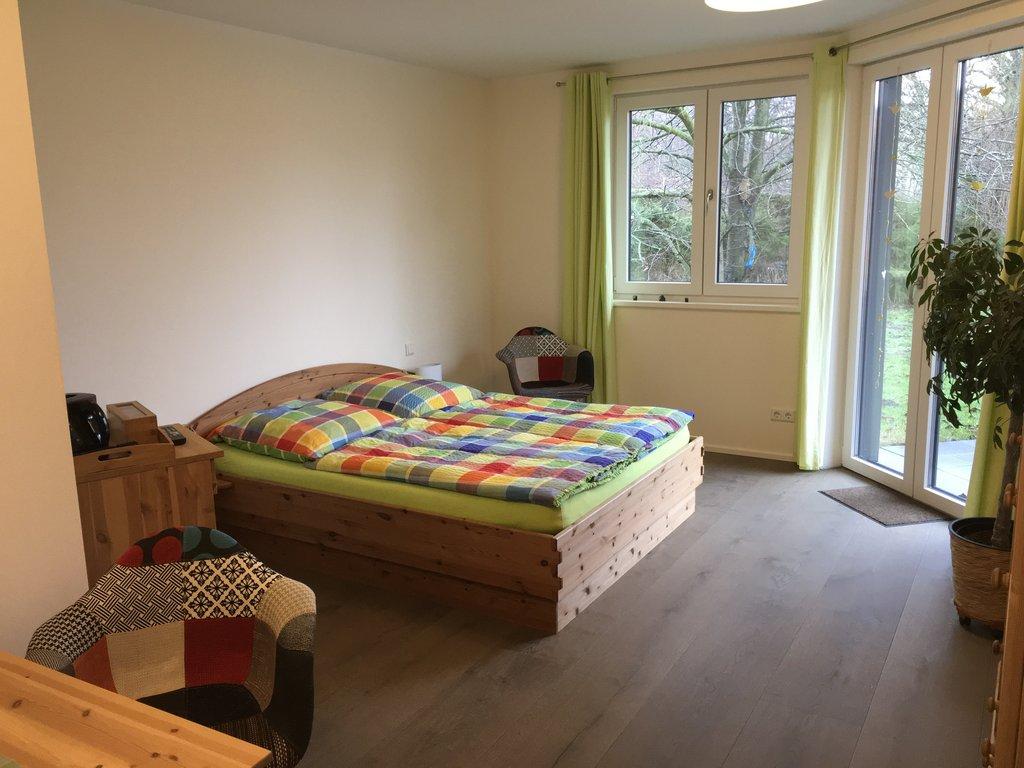 Gästezimmer Schlafzimmer Bett
