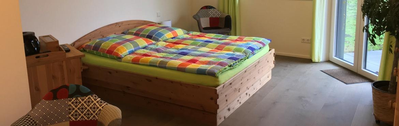 Gästezimmer Bett