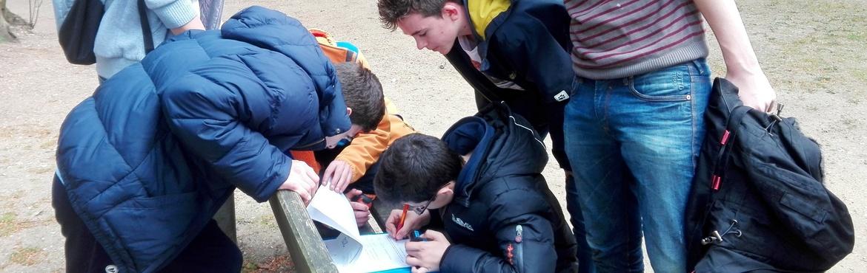 Geocaching Geocacher Schüler